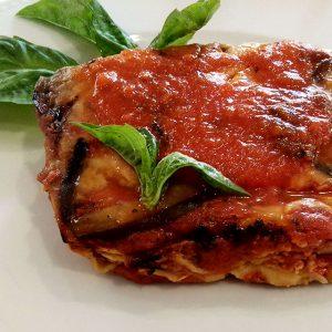 Parmigiana Gratiné no Forno receita Italiana com Beringela e Tomate
